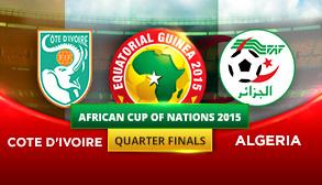 Cote d'Ivoire vs Algeria