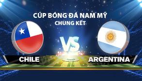 cúp bóng đá nam mỹ chile 2015 - Chile vs Argentina