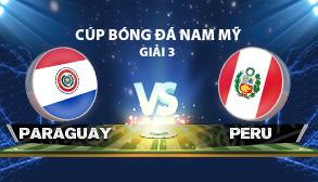 cúp bóng đá nam mỹ chile 2015 - Paraguay vs Peru
