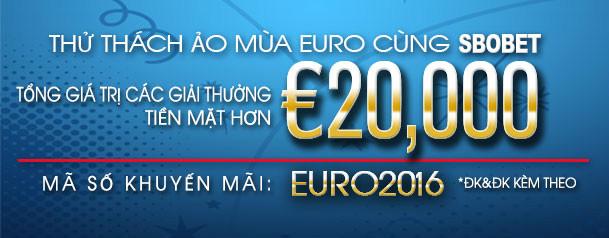 SBOBET Euro Fantasy Challenge