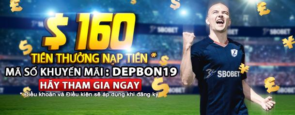 Deposit Bonus - DEPBON19