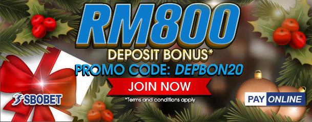 Deposit Bonus - DEPBON20