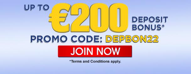 Deposit Bonus - DEPBON22