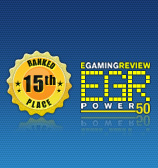 15th Place in EGR Power 50 List