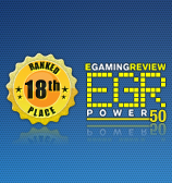 18th Place in EGR Power 50 List